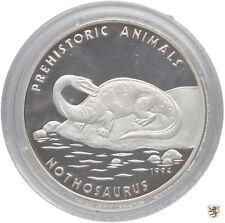 KAMBODSCHA, 20 Riels, 1994, Nothosaurus, KM#96, Polierte Platte