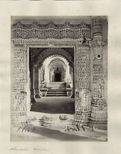 c.1870 PHOTO - INDIA BOURNE AND SHEPHERD AHMEDABAD MAUSOLEUM