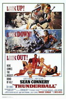 65233 Thunderball Movie Sean Connery laudine Auger Wall Print POSTER Plakat