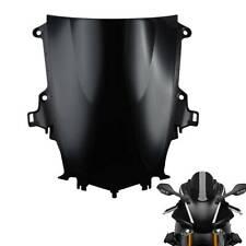 Black Windscreen Windshield For Yamaha YZF-R1 YZFR1 YZF R1 2015-2019 18 17 TCMT