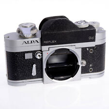 Alpa Reflex 9d Swiss 35mm Film SLR Body - 1964 Collectible - Earliest TTL Meter