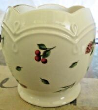 Gorgeous Lenox Williamsburg Boxwood And Pine Candle Holder Discontinued