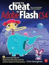 How to Cheat in Adobe Flash CS4: The art of design and animation-ExLibrary