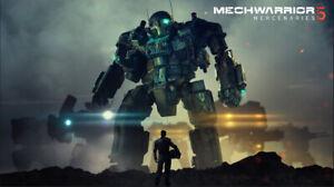 MechWarrior 5: Mercenaries | PC [Epic Games] [DE/MULTI] No Key/Code