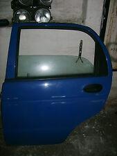 Daewoo Matiz Tür hinten links Bj.98-02 kompl. mit Innenverkleidung und Scheibe