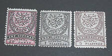 lot 3 higher value Turkey stamp  mint NG printing error
