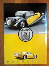 Catalogue Pocher 1992 Alfa Romeo 2300, Rolls Royce Phantom II, Fiat 130 HP...