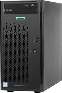 HP ProLiant ML10 Gen9 Server Workstation E5-1225 V5 8GB RAM 5TB HDD Win 10 Pro