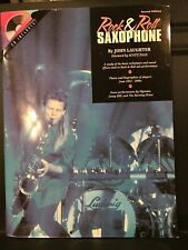 Rock & Roll Saxophone (2nd Ed) by John Laughter - Brand New