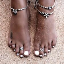 Summer Boho Starfish Hot Anklet Vintage Ankle Bracelet Women Buddha Foot Jewelry