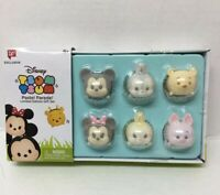 Disney Tsum Tsum Vinyl Pastel Parade Gift Set Limited Edition Mickey Minnie Pooh