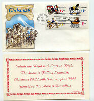 1415-18 1970 Christmas Toys, Cover Craft Cachets, CCC, block of 4, FDC
