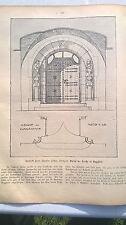 1905 40 Entwurf Kirche Gaggstatt