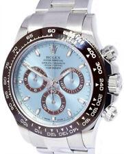 Rolex Daytona Platinum Chronograph Watch Glacier Blue Box/Papers 2018 116506