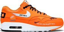 "Nike Air Max 1 LX ""Just Do It""/ Wmns 12 - Mens 10.5/ Orange/ 917691 800"