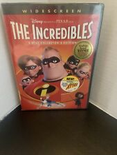 The Incredibles (Dvd, 2-Disc Set, Widescreen, Collectors Edition) Factory sealed