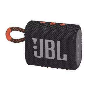 JBL Go 3 Portable Waterproof SpeakerBlack/Orange