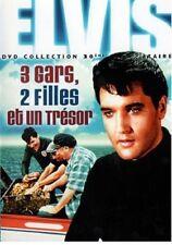 15280 // 3 GARS 2 FILLES ET UN TRESOR ELVIS PRESLEY DVD NEUF