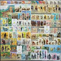 Worldwide Animals Stamp Collection MNH +15 Full Sets from 15 Different Countries