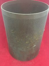 """Sediment Element Strainer 12.5"""" 9.5"""" O.D. Steel Perforated Cylinder See Listing"""