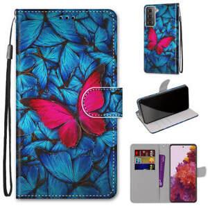 Case For Motorola Moto E6 E8 E7 G G8 Play Plus Power Pattern Wallet Flip Cover