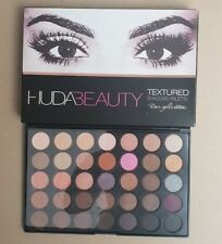 New Huda Beauty Textured Eye Shadows Palette 35 Colours - Rose Gold Edition - UK