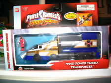 Power Rangers Ninja Storm Wind Power Turbo Transporter w/ Micro Mini Ranger NEW