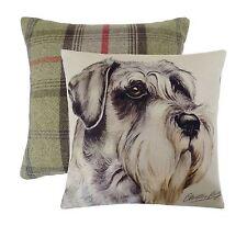 "17"" Schnauzer Cushion by Waggy Dogz-evans Lichfield Dpa209"