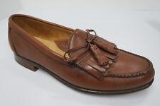 FOOTJOY Kiltie Tassel Loafers Brown made in USA 9 C