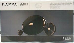 "Infinity KAPPA 90CSX 810 Watt 6"" x 9""  2-Way Component Package Car Speakers NEW"