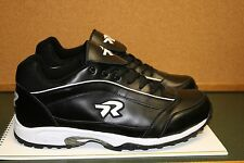 MEN'S RINGOR SOFTBALL-TURF SHOES Black - Size 14=NEW BUT NO BOX