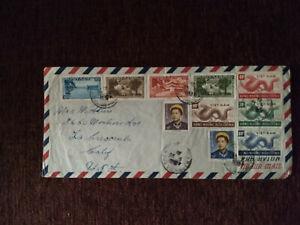 South Vietnamese Mythological Stamps (1952)