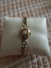 Vintage Bulova Ladies Antique 10k Rolled Gold Mechanical wristwatch