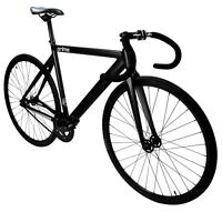 ZF Prime Alloy Track Bike Matte Black Zycle Fix 50 53 55 59 cm Fixed Gear