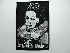 ELIZABETH BATHORY  EMBROIDERED PATCH