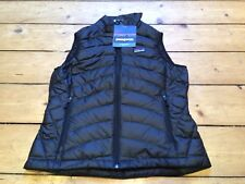 Patagonia Women's Down Sweater Vest Slim Fit Black XS Extra Small BNWT RRP £140