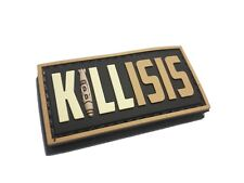 """The 2x1"""" Empire Tactical Kill ISIS Terrorism military Morale (hook/loop) Patch"""