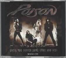 POISON / UNTIL YOU SUFFER SOME (FIRE AND ICE) * NEW MAXI-CD 1993 * NEU