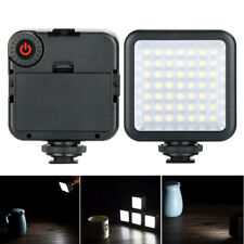 Portable W49 Camera LED Video Light Interlock Adjustable Mini For Iphone Android