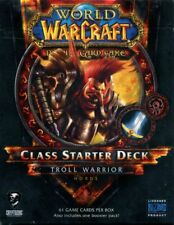 New Sealed Class Starter Deck Troll Warrior Horde World of Warcraft WoW TCG