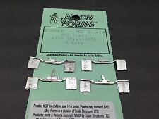 HO 1/87 Alloy Forms # 3068 Mudflaps with Tail light Bar - 4 sets
