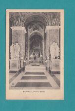 Roma La Scala Santo Italy Rome Vintage Postcard Holy Stairs-Pilgrimage Post Card