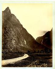 Knudsen Knud, Norvège, vue à identifier  Vintage albumen print, Knud Knudsen (