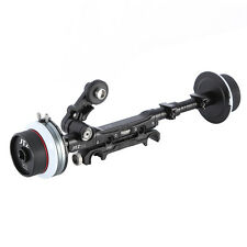 JTZ DP30 Dual Follow Focus For FS700 F55 Red One C300 BMCC FS7 A7R 15mm/19mm Rod