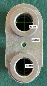 Braccetto con bussole ricambio originale per impastatrice OLIMPIC TOP CHEF n.252