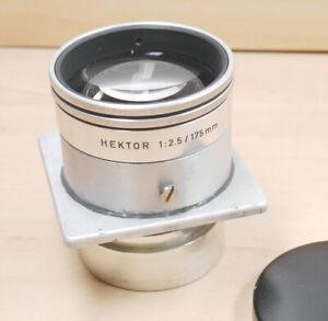 Leitz Hehtor 2,5/175 mm mit Speed Grafic Platine       12 Monate Gewähr !