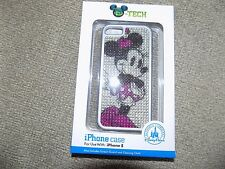 Disney Parks Minnie Mouse Bling rhinestones iPhone 5 Cell Phone Cover NEW