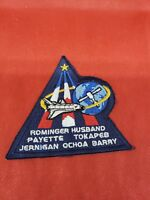 US NASA  Patch Shuttle Flight Astronaut Mission BARRY ROMINGER HUSBAND 4 inch