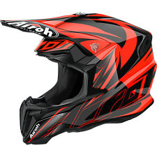 Casco Moto Cross Airoh Evil Orange Gloss 2016 TG M