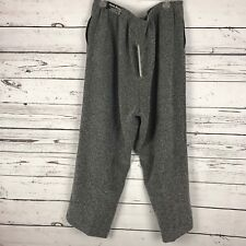 Alfred Dunner Casual Pants Woman Gray Size 20W Classic Fit NWT